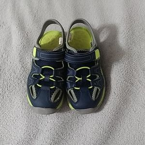 Navy blue water shoes